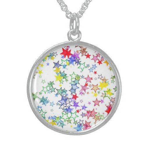 Arco iris de las estrellas de los colores grimpola