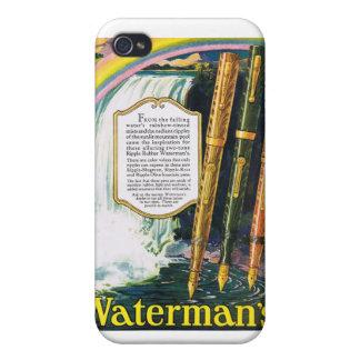 arco iris de las plumas del barquero de los años 3 iPhone 4/4S fundas