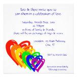 Arco iris de los corazones comunicados