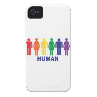 ARCO IRIS DE LOS DERECHOS DE LOS HOMOSEXUALES DE Case-Mate iPhone 4 CARCASA