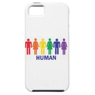 ARCO IRIS DE LOS DERECHOS DE LOS HOMOSEXUALES DE iPhone 5 CARCASA