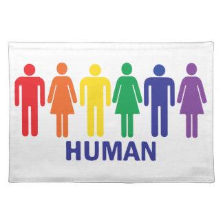 ARCO IRIS DE LOS DERECHOS DE LOS HOMOSEXUALES DE MANTELES
