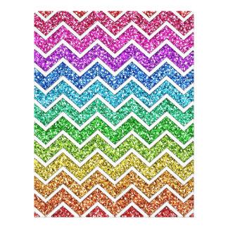 Arco iris de moda fresco impresionante del modelo  tarjeta publicitaria
