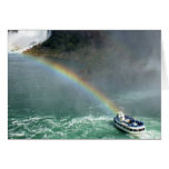 Arco iris de Niagara Falls Tarjeta