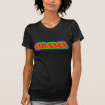 Arco iris de Obama Camiseta