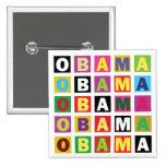 Arco iris de Obama Pin