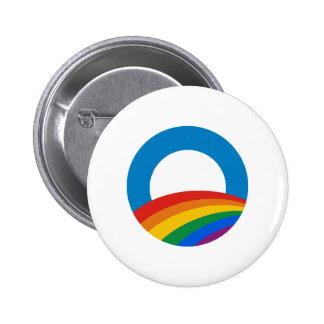 Arco iris de Obama Pins