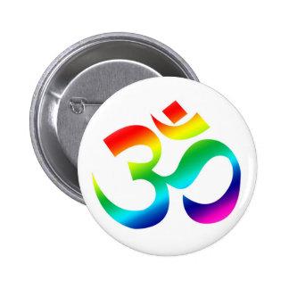 Arco iris de OM - botón
