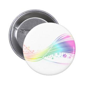 Arco iris de Pawprint Pin
