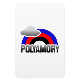 ARCO IRIS DE POLYAMORY IMANES