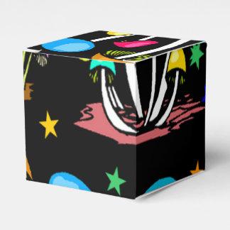 Arco iris de setas cajas para regalos