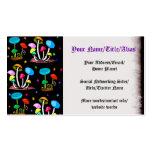 Arco iris de setas plantillas de tarjetas de visita