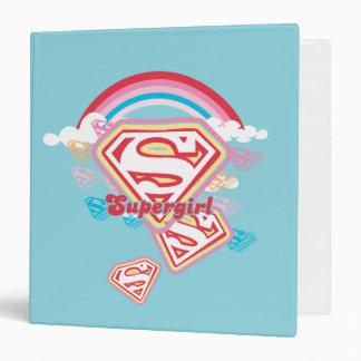 """Arco iris de Supergirl Carpeta 1 1/2"""""""