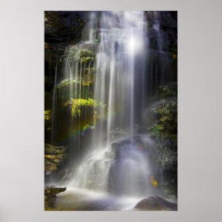 Arco iris de Watefall del lapso de tiempo Impresiones