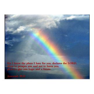 Arco iris del 29:11 de Jeremiah Postal