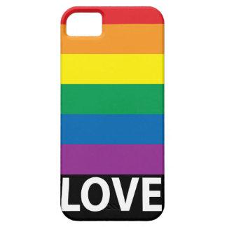 Arco iris del amor, orgullo gay, LGBT iPhone 5 Funda