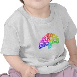 Arco iris del árbol de Oakland Camiseta