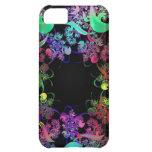 Arco iris del arte del fractal de los colores