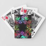 Arco iris del arte del fractal de los colores barajas