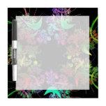 Arco iris del arte del fractal de los colores pizarra