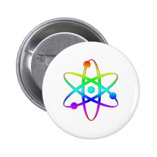 arco iris del átomo pins