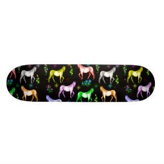 Arco iris del caballo skateboards