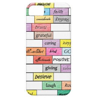 Arco iris del caso inspirado del iPhone 5 de la pi iPhone 5 Case-Mate Carcasas