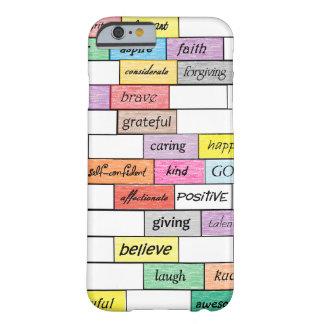 Arco iris del caso inspirado del iPhone 6 de la Funda De iPhone 6 Barely There
