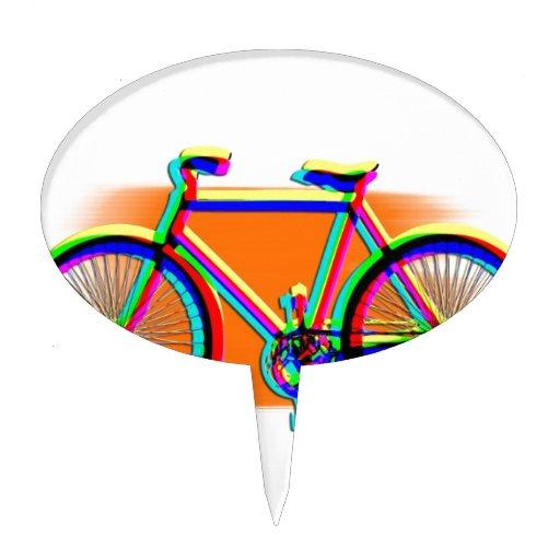 Arco iris del destino del amigo de la familia del  figuras para tartas