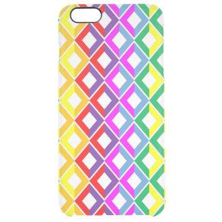 Arco iris del enrejado funda clearly™ deflector para iPhone 6 plus de unc