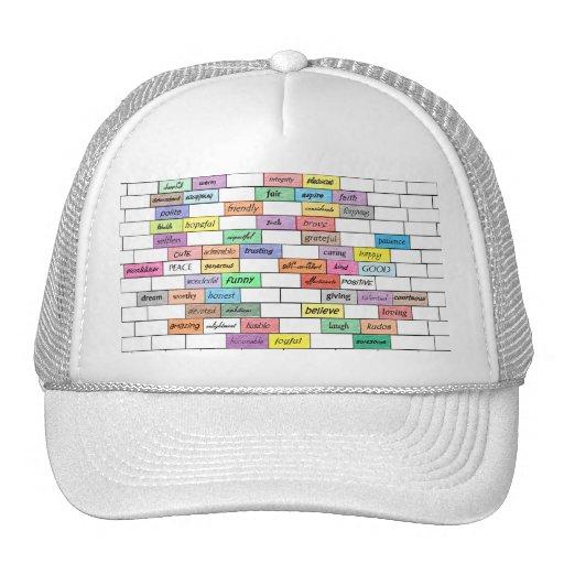 Arco iris del gorra inspirado de la malla de la pi