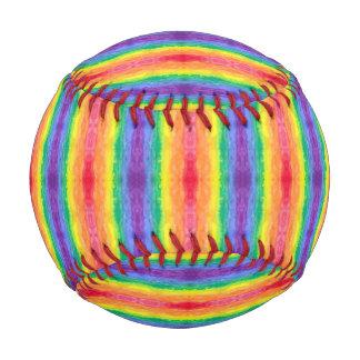 Arco iris del lavado de la acuarela de la raya del