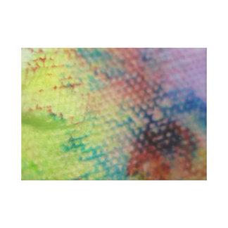Arco iris del lavado del huevo de Pascua Lienzo Envuelto Para Galerías