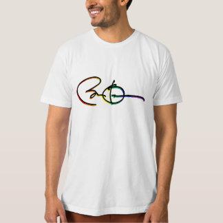 Arco iris del orgullo de Barack Obama de la firma Poleras