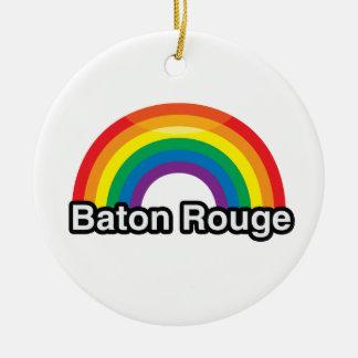 ARCO IRIS DEL ORGULLO DE BATON ROUGE LGBT - .PNG ADORNO