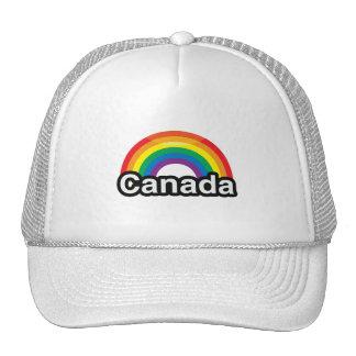 ARCO IRIS DEL ORGULLO DE CANADÁ LGBT - .PNG GORRO DE CAMIONERO