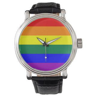 Arco iris del orgullo de LGBT Relojes