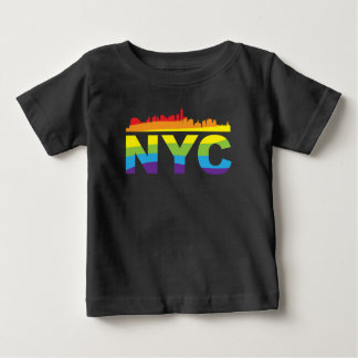 Arco iris del orgullo de NYC Remera