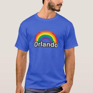 ARCO IRIS DEL ORGULLO DE ORLANDO LGBT - .PNG PLAYERA