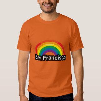 ARCO IRIS DEL ORGULLO DE SAN FRANCISCO LGBT - .PNG REMERAS