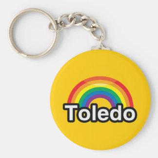 ARCO IRIS DEL ORGULLO DE TOLEDO LGBT LLAVERO