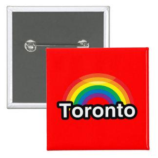 ARCO IRIS DEL ORGULLO DE TORONTO LGBT PIN