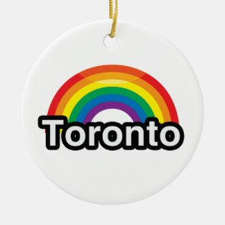 ARCO IRIS DEL ORGULLO DE TORONTO LGBT - .PNG ORNAMENTO DE REYES MAGOS