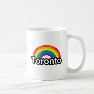 ARCO IRIS DEL ORGULLO DE TORONTO LGBT - .PNG TAZA