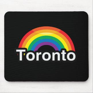 ARCO IRIS DEL ORGULLO DE TORONTO LGBT ALFOMBRILLA DE RATONES