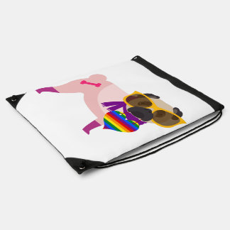 Arco iris del perro del barro amasado de Stylin Mochilas