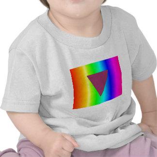 Arco iris del transexual camiseta