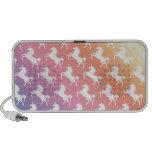 Arco iris del unicornio iPod altavoz
