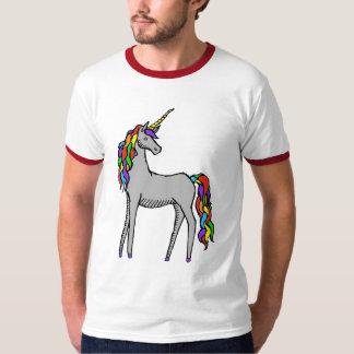 Arco iris del unicornio playera