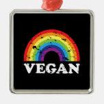 Arco iris del vegano adorno de reyes